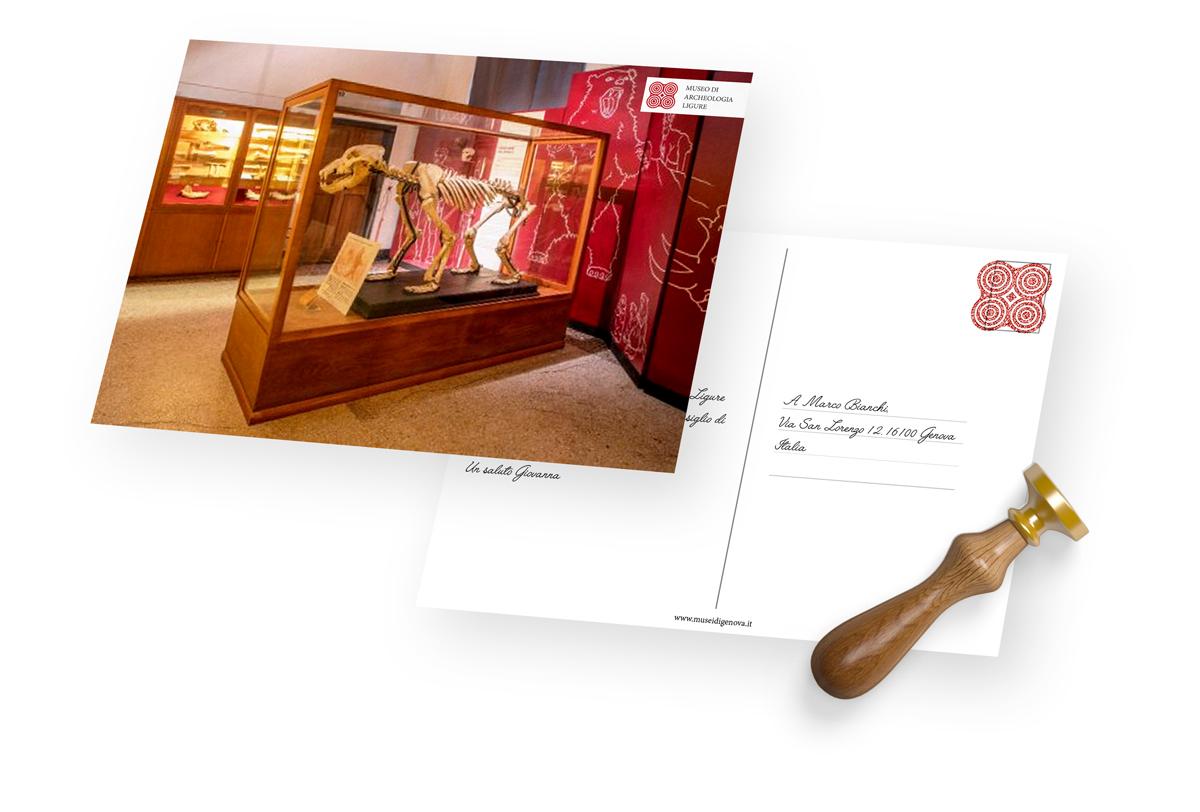 Museo Archeologia Ligure postcard