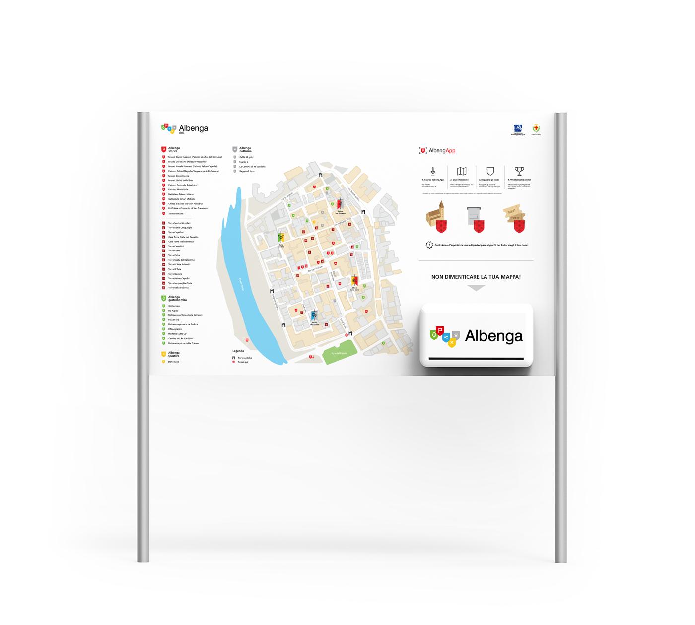 Albenga mappa