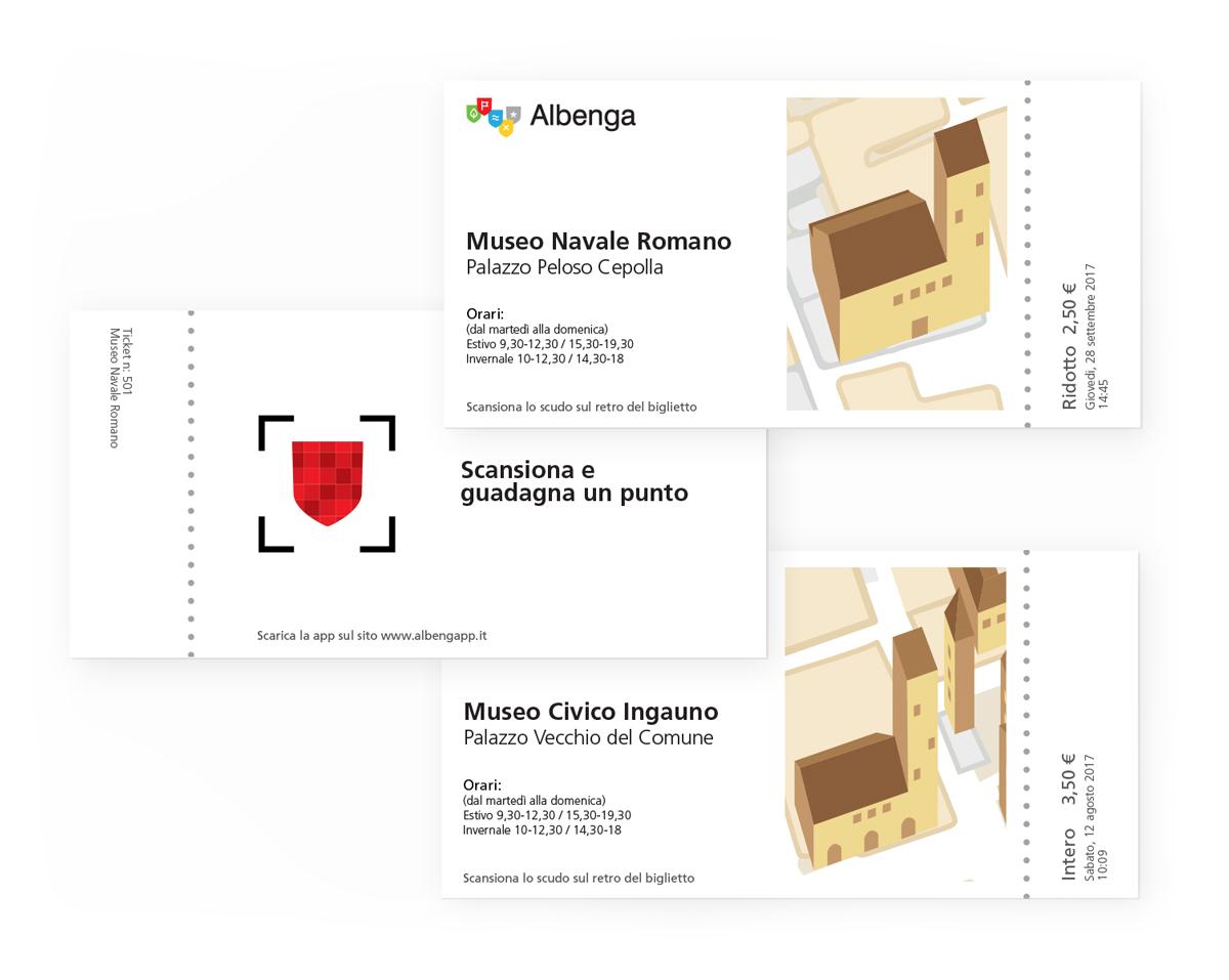 Albenga ticket