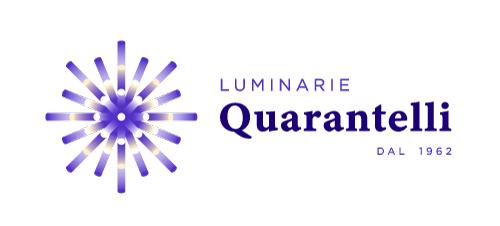 Luminarie Quarantelli logo orizzontale