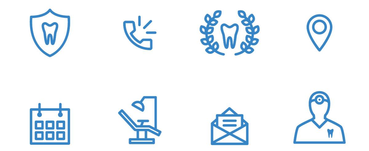 Dentista icone