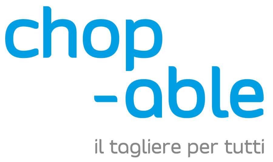 Chop-able logo