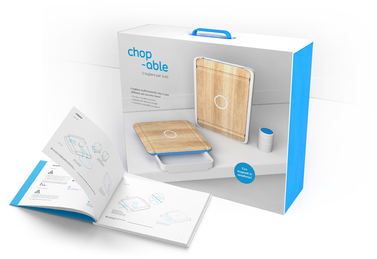 Chop-able packaging
