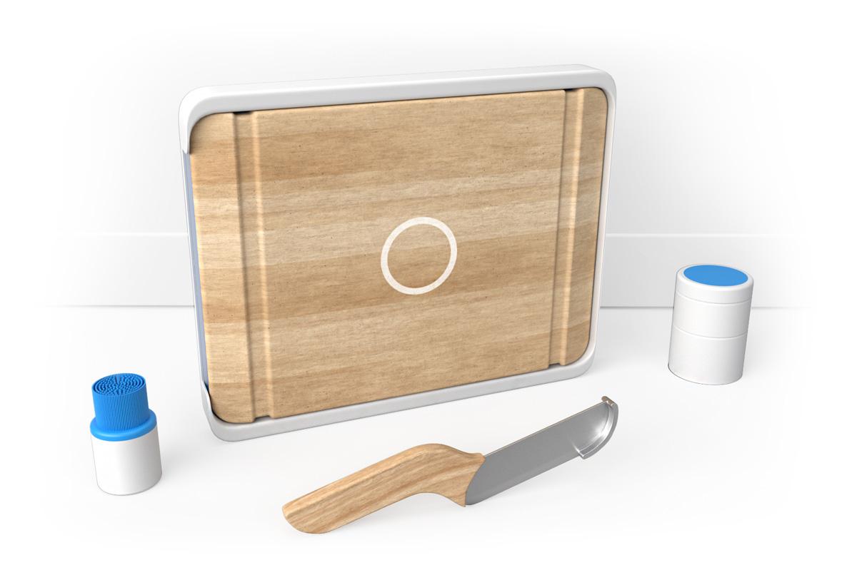 Chop-able chopping board
