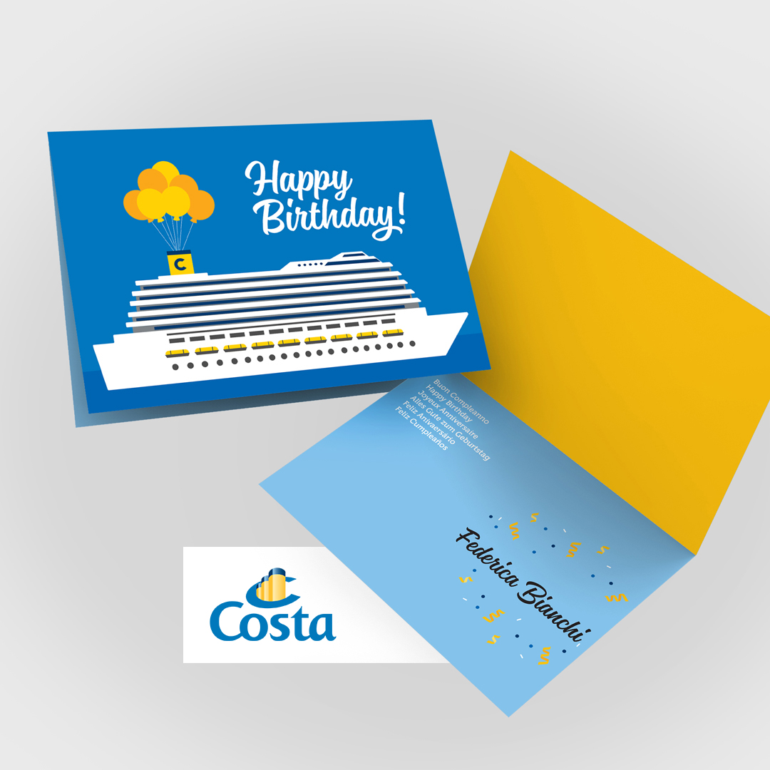 Costa Cruise card